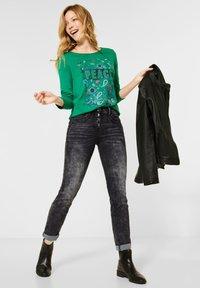 Cecil - Slim fit jeans - schwarz - 1