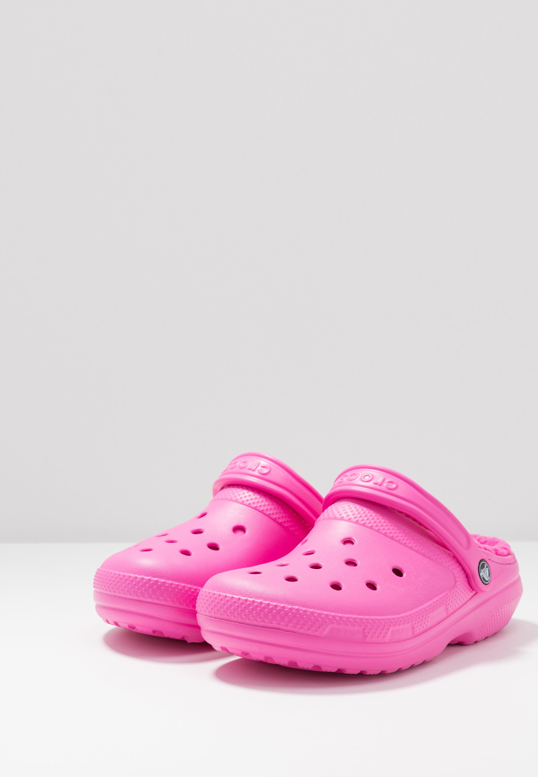 Crocs CLASSIC LINED Hausschuh electric pink/pink