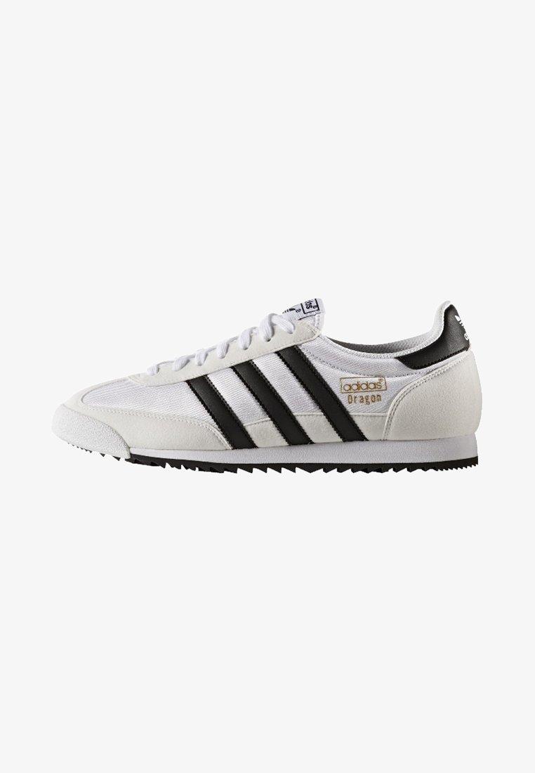 libertad dictador Gran engaño  adidas Originals DRAGON VINTAGE - Trainers - footwear white/core black/gold  metallic/white - Zalando.ie