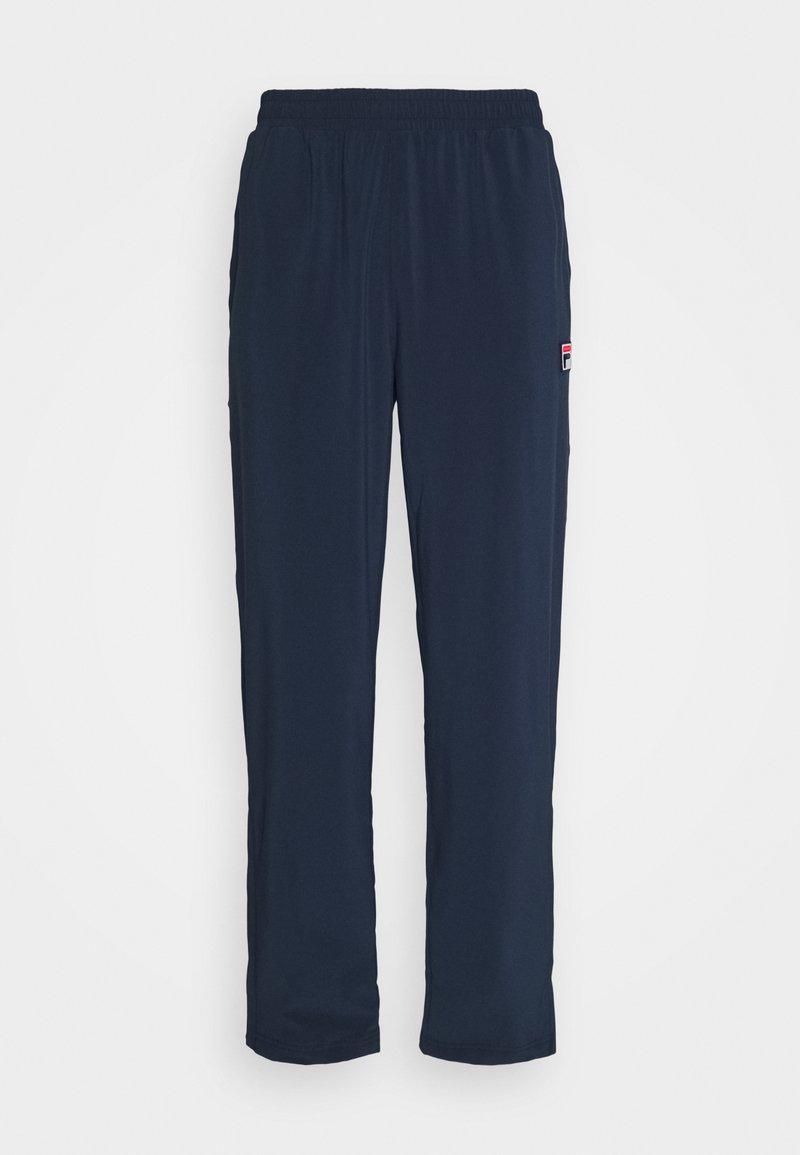 Fila - PANT PRO - Teplákové kalhoty - peacoat blue