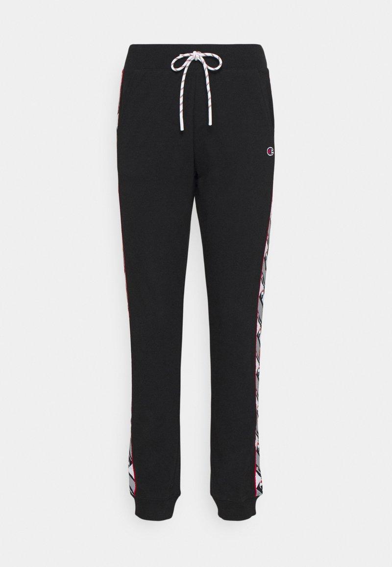 Champion Rochester - RIB CUFF PANTS - Pantaloni sportivi - black