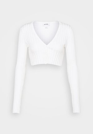 DORIS CROPPED CARDIGAN - Cardigan - off white