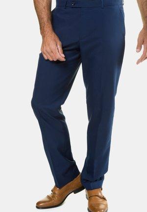 Pantalon de costume - stahlblau