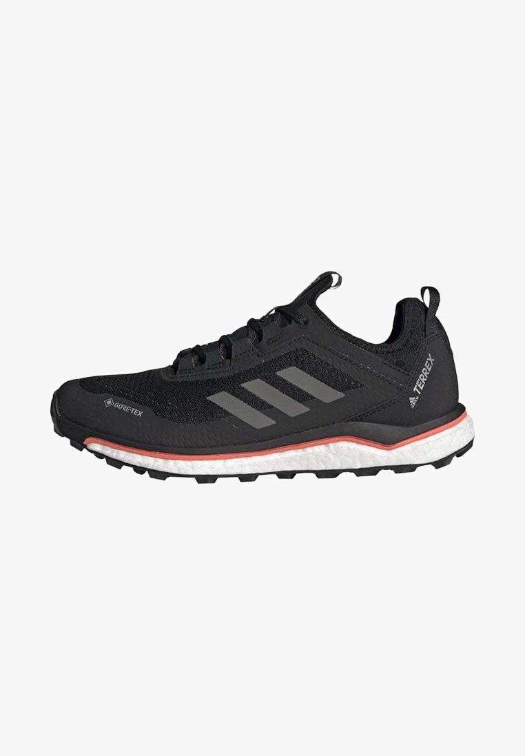 adidas Performance - TERREX AGRAVIC GORE-TEX BOOST TRAIL RUNNING - Løpesko for mark - black