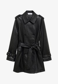 Mango - CLAUDIA - Krátký kabát - black - 7