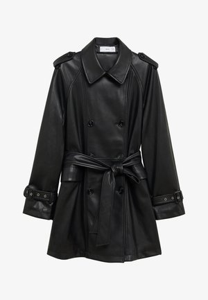 CLAUDIA - Short coat - black