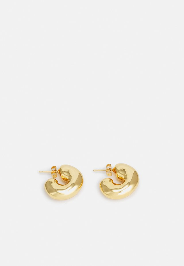 VOLUME HOOPS - Earrings - gold-coloured