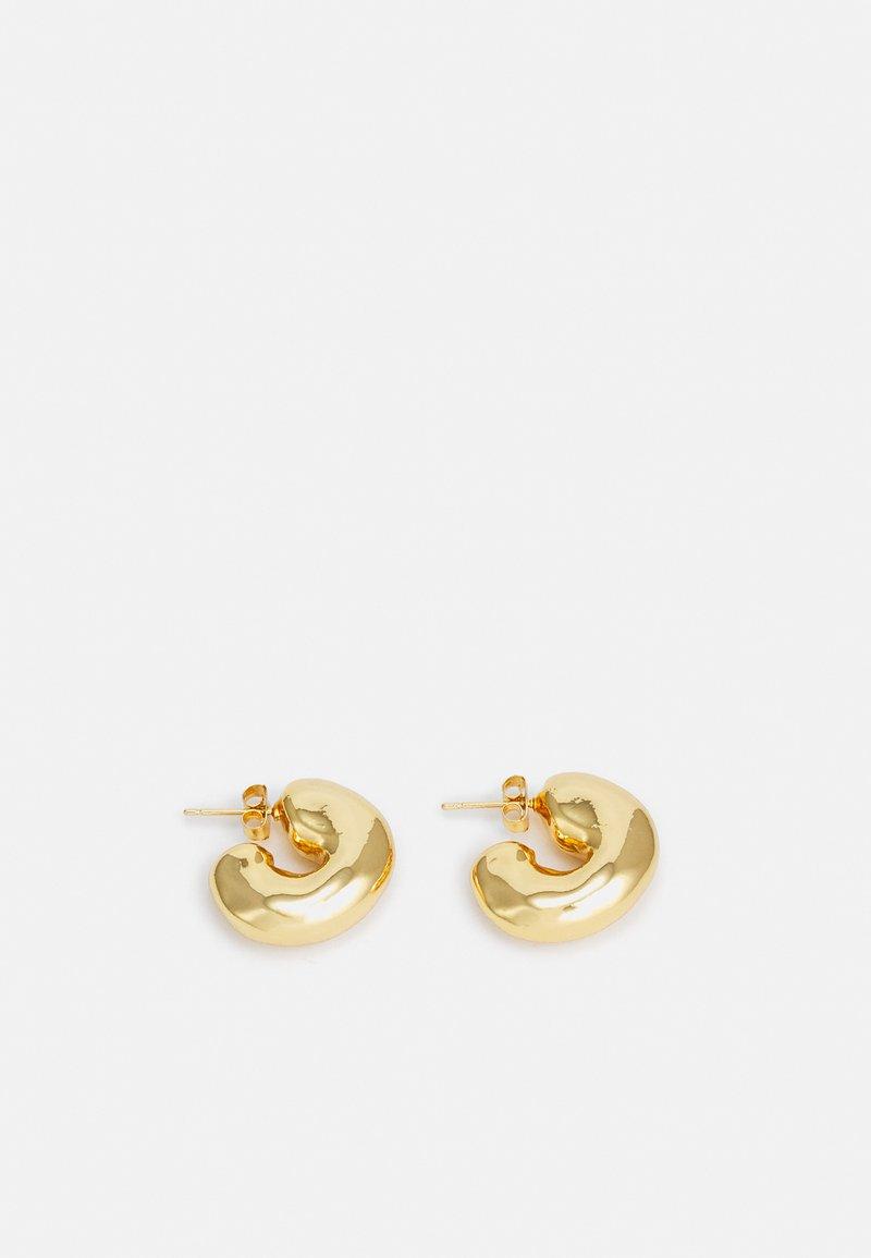 Rejina Pyo - VOLUME HOOPS - Boucles d'oreilles - gold-coloured