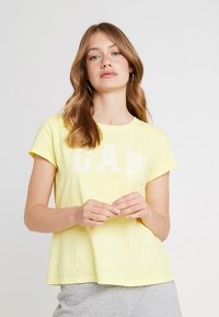 GAP - TEE - Print T-shirt - fresh yellow - 0