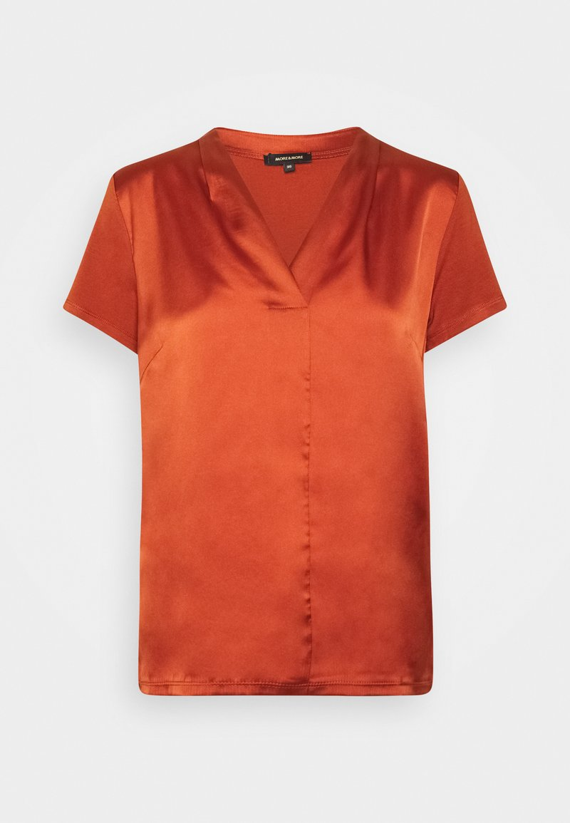 More & More - Blouse - terracotta