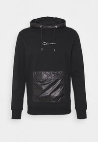 CLOSURE London - CONTRAST UTILITY HOODY - Sweat à capuche - black - 4