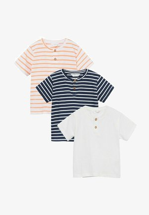 3 PACK - Print T-shirt - donkermarine