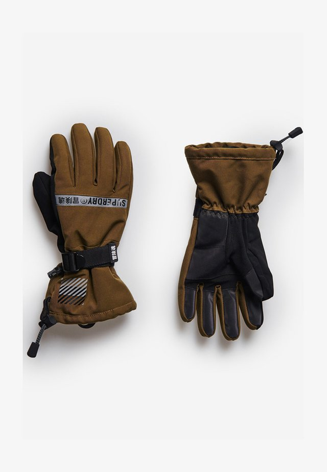 SNOW RESCUE - Fingervantar - dusty olive