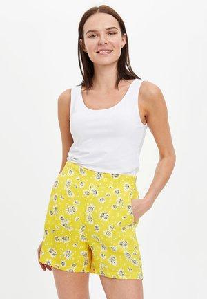 DEFACTO WOMAN YELLOW - Shorts - yellow