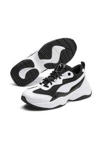 Puma - CILIA PATENT - Trainers - puma black-puma white-silver - 2