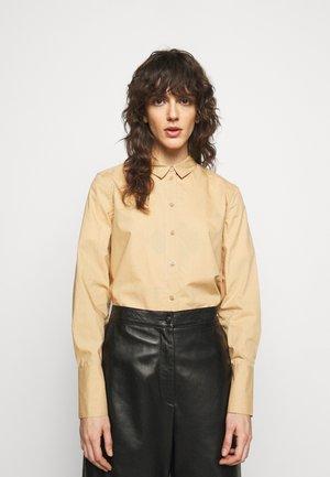 CALANI - Button-down blouse - tan