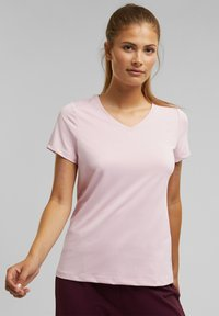 Esprit Sports - Basic T-shirt - light pink - 2