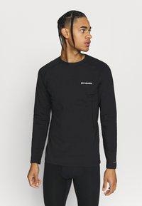 Columbia - OMNI HEAT CREW - Unterhemd/-shirt - black - 0