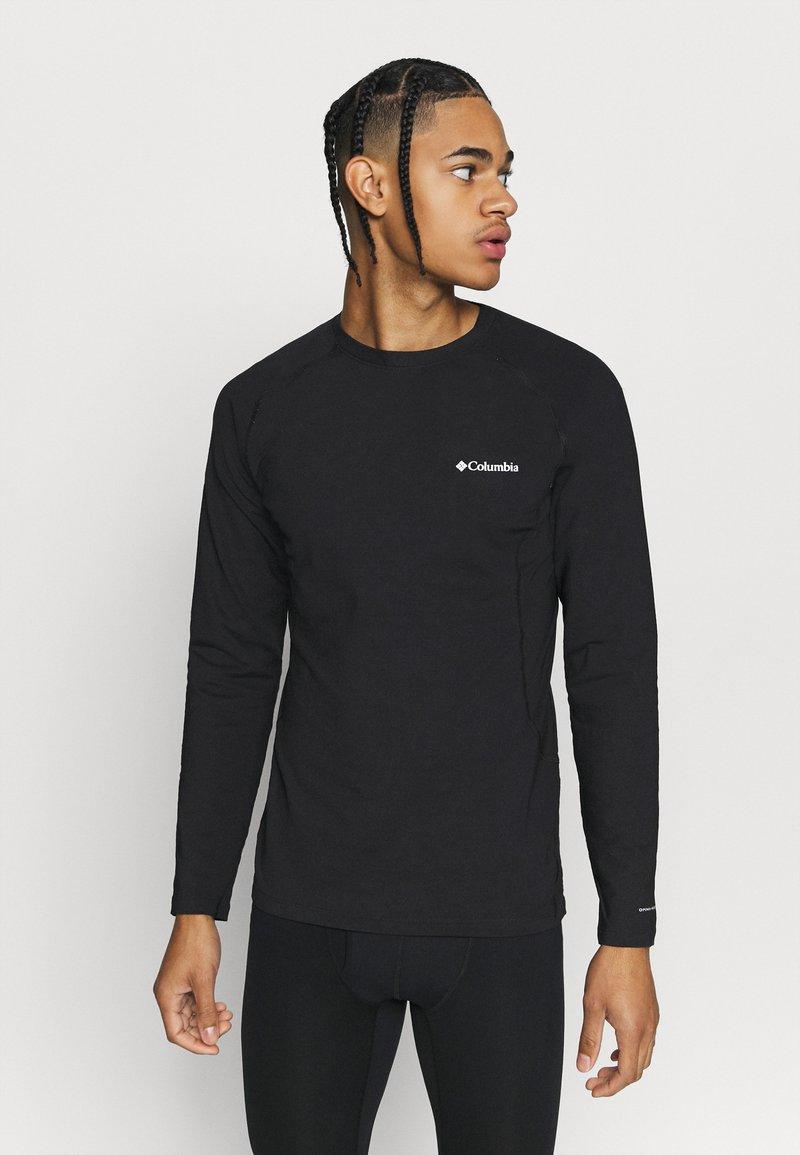 Columbia - OMNI HEAT CREW - Unterhemd/-shirt - black