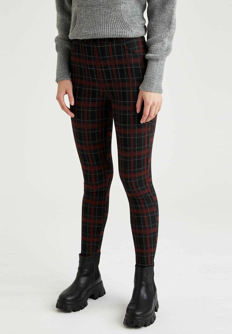 DeFacto - Leggings - Trousers - bordeaux
