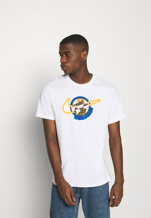 TEE WORLDWIDE - Print T-shirt - white