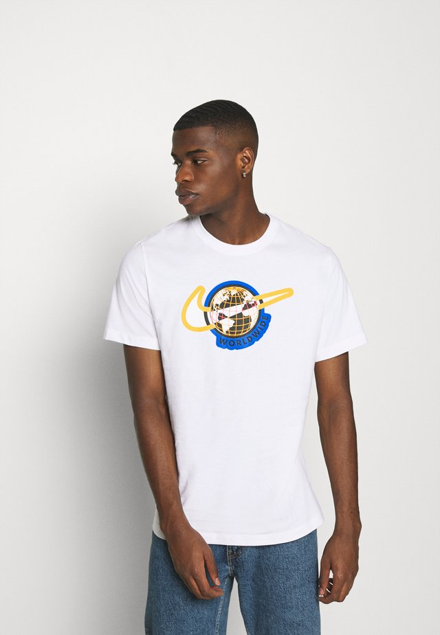 TEE WORLDWIDE - T-shirt imprimé - white
