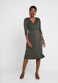 Great Plains London - IVY - Cocktail dress / Party dress - black/gold - 0