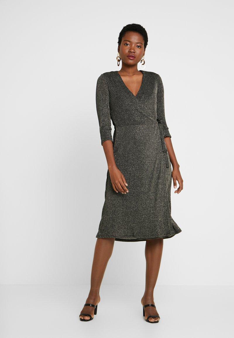 Great Plains London - IVY - Cocktail dress / Party dress - black/gold