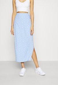 Envii - MALLOW SKIRT - Pencil skirt - light blue - 0
