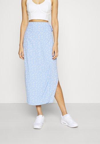 MALLOW SKIRT - Falda de tubo - light blue