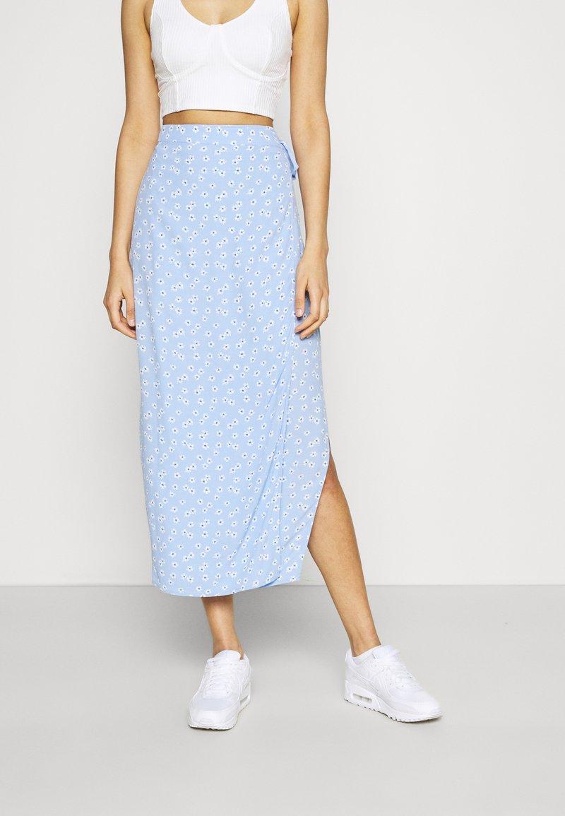 Envii - MALLOW SKIRT - Pencil skirt - light blue