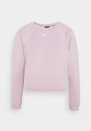 LUX DRY CREW - Sweater - plum chalk/silver