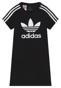 adidas Originals - SKATER DRESS - Sukienka z dżerseju - black/white - 3