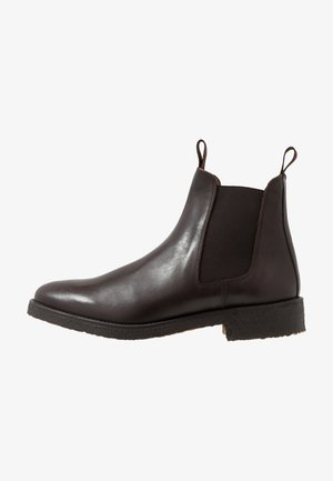 EXCLUSIVE CHEALSEA BOOT - Kotníkové boty - dark brown