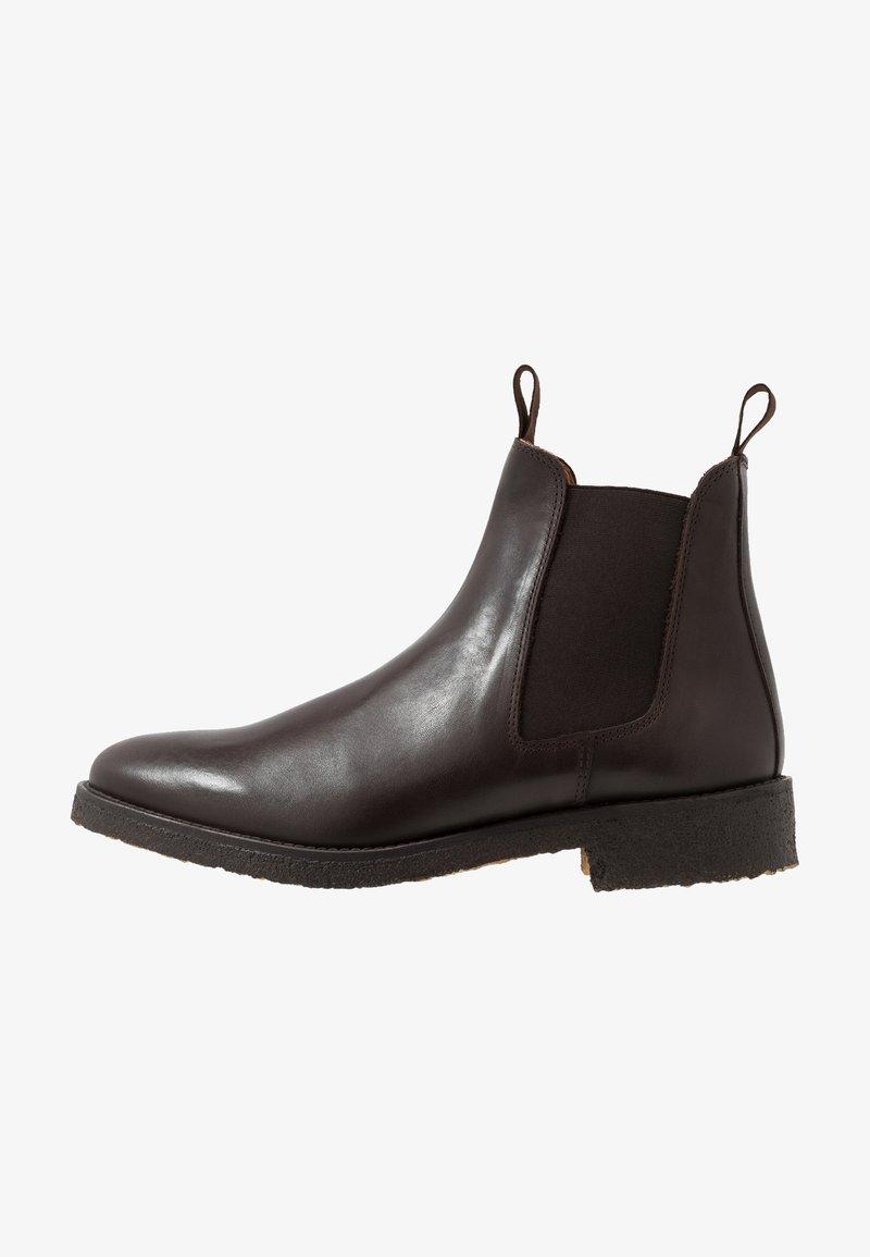 Les Deux - EXCLUSIVE CHEALSEA BOOT - Kotníkové boty - dark brown