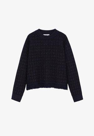 CHABELI - Sweter - dunkles marineblau