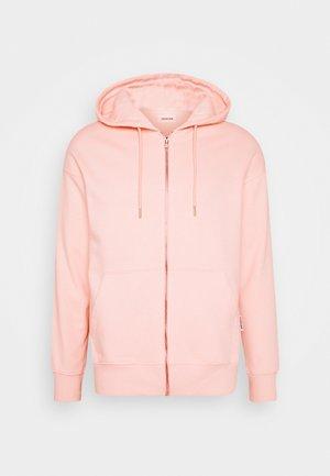 UNISEX - veste en sweat zippée - pink