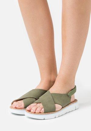 ORUGA - Sandals - khaki