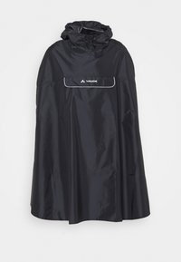 Vaude - VALDIPINO PONCHO - Waterproof jacket - black - 3
