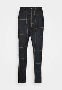 ALCOHOLIC TROUSERS - Kalhoty - brown