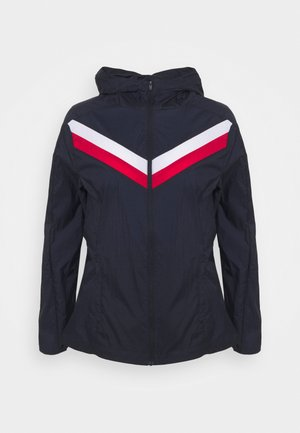 CHEVRON PACK WINDBREAKER - Sports jacket - blue