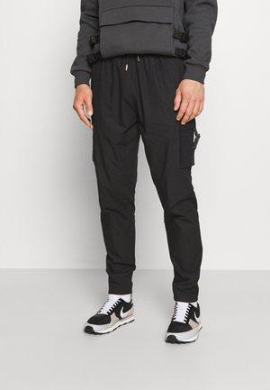ZAIAR PANT - Cargo trousers - jet black