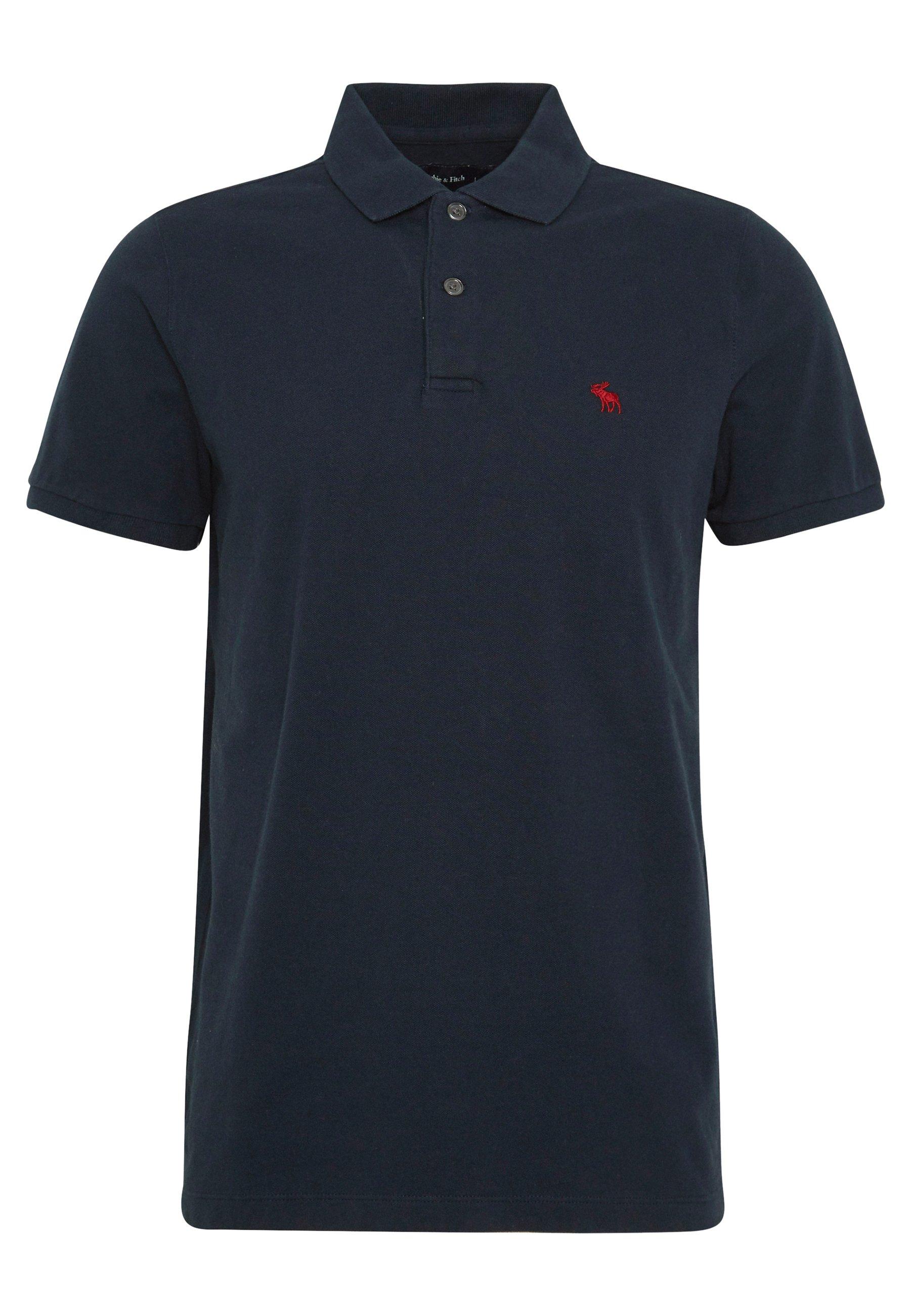 Abercrombie & Fitch Koszulka Polo - Navy