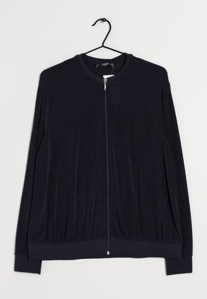 Sweat à capuche zippé - blue
