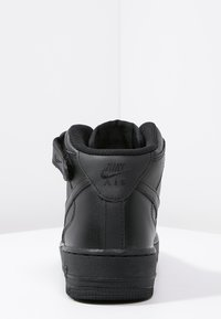 Nike Sportswear - AIR FORCE 1 MID '07 - Korkeavartiset tennarit - black - 3