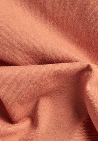 G-Star - GSRAW KNOT CAP SLEEVE - Basic T-shirt - light paste - 4
