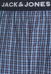 Jack & Jones - JACBLUEISH CHECK PANTS - Pyjama bottoms - dress blues - 2