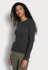 Anna Field Petite - Långärmad tröja - mottled grey - 3