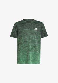 adidas Performance - T-shirt con stampa - grey - 0