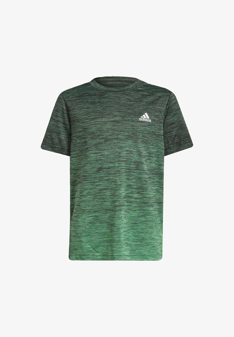 adidas Performance - T-shirt con stampa - grey
